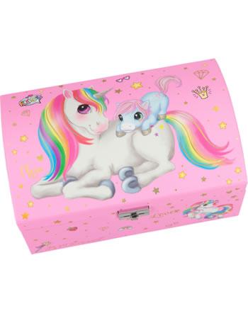 Ylvi and the Minimoomis jewel case Unicorn with baby pink