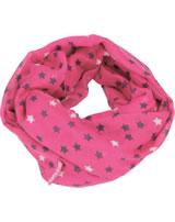 TOPModel Loop-Schal Sterne pink