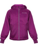Minymo Schnee-Jacke mit Kapuze 8000 mm red plum 160290-4550