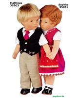 Käthe Kruse Puppe IX Matthias 35903 links