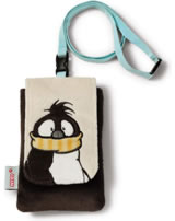 Nici Smartphonehülle/Handytasche Pinguin Joris Let it snow