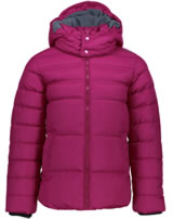 CMP Girl Jacket with zipper and hood magenta 3K27675-B819