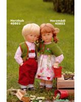 Käthe Kruse Puppe Pummelchen Herzbub 40801 Abb. links