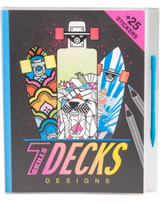7Skills Malbuch Decks-Designs