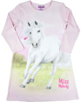 Miss Melody Nightgown long sleeve white horse pink lady 98872-832