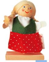 Käthe Kruse Fingerpuppe Gretel  60212