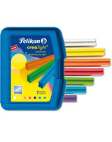 Pelikan Knetebox Crealight blau - 7 Farben