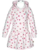 Bellybutton Sweat-Kleid Langarm mit Kapuze Mini Girl allover 2083028-0003