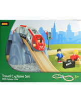 BRIO Bahn Travel Explorer Set 33106