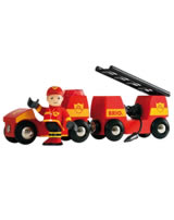 BRIO Fire engine with light and sound 33576