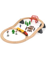 BRIO Countryside Hill Set 33909