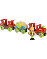 BRIO Fun Park Bunter Clown-Zug 33756
