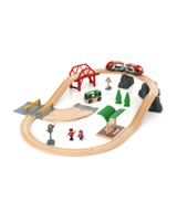 BRIO Rail and Road City Set 33915
