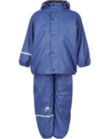 CeLaVi PU Regenanzug Set mit Fleece true blue 310125-7080