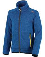 CMP Fleece-Jacke in Strick-Optik Boy zaffiro-cobalto 3H60744-79AA