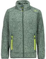 CMP Fleece-Jacke in Strick-Optik Uni jungle/stone/energy 3H60744-31UE