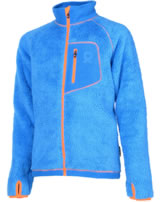 Color Kids Teddyfleece-Jacke TYLER scuba blue 102750-0110
