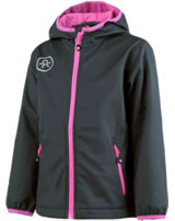 Color Kids Softshell-Jacke BARKIN indian ink 102875-0032