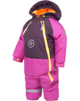 Color Kids Schnee-Overall SCABBO rose violet 103150-04133 BIONIC-FINISH ECO