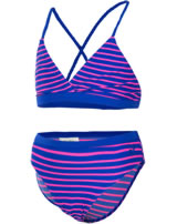Color Kids Bikini VIPS UV 40+ dazzeling blue gestreift 103265-01133