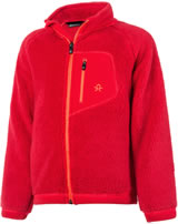 Color Kids Teddyfleece-Jacke BURMA MINI racing red 103435-04172
