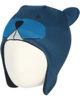 Color Kids Bonnet tricoté REAVER MINI dark ocean 103457-04162