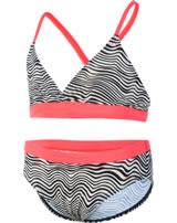 Color Kids Bikini TORIL PS UV 40+ noir / blanc bande 103554-0097