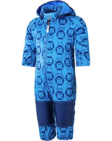 Color Kids Softshell-Overall TAJO MINI diva blue 103622-0170 BIONIC-FINISH ECO