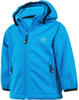 Color Kids Softshell-Jacke TRIMBLE MINI diva blue 103624-0170