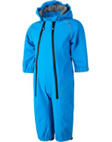Color Kids Softshell-Overall TOMA MINI diva blue 103633-0170