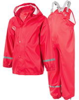 Color Kids Regenanzug Set TAXI RAIN racing red 103637-04172