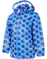 Color Kids Regenjacke AOP PU estate blue 103638-0188