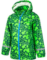 Color Kids Regenjacke AOP PU toucan green 103638-02131