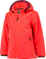 Color Kids Softshell-Jacke RALADO fiery coral 103667-04151