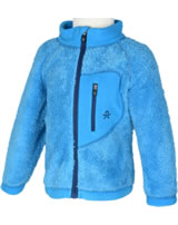 Color Kids Teddyfleece-Jacke BURMA diva blue 103720-0170
