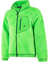 Color Kids Teddyfleece-Jacke BURMA toucan green 103720-02131