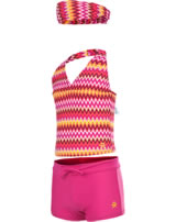 Color Kids Tankini Bikini BELLE UV 40+ bright rose 102942-0440