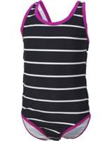 Color Kids Badeanzug TULLE UV 40+ phantom 104020-39