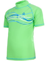 Color Kids Beach-Shirt BALLOON UV 50+ lime green 102951-02102