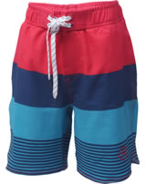Color Kids Badeshorts Beachshorts NELTA coral red 103982-4137