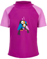 Color Kids Beach-Shirt ELINE UPF 40+ berry CK104605-409