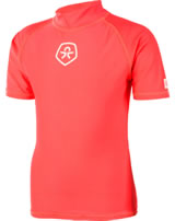 Color Kids Beach-Shirt TIMON UV 50+ fiery coral 104026-4151