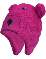 Color Kids Fleece-Inkamütze KIPPO mit Ohren rasberry 103838-0443