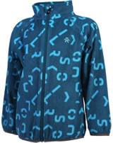 Color Kids Fleece-Jacke KASANDRA deep lagoon 103795-2146