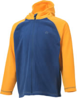 Color Kids Fleece-Jacke m. Kapuze NANUK estate blue 103986-188