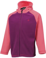 Color Kids Fleece-Jacke m. Kapuze NANUK magenta purple 103986-4123