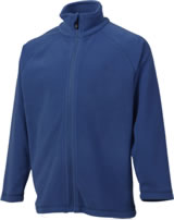 Color Kids Fleece-Jacke TEMBING estate blue 103983-188