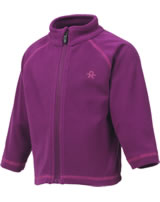 Color Kids Fleece-Jacke TEMBING MINI magenta purple 103904-4123