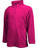 Color Kids Fleece-Pullover SANDBERG rasberry 103794-443