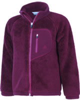 Color Kids Teddyfleece-Jacke BURMA beet red102892-0436